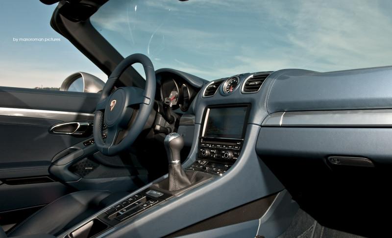Porsche Boxster S (981) by marioroman pictures