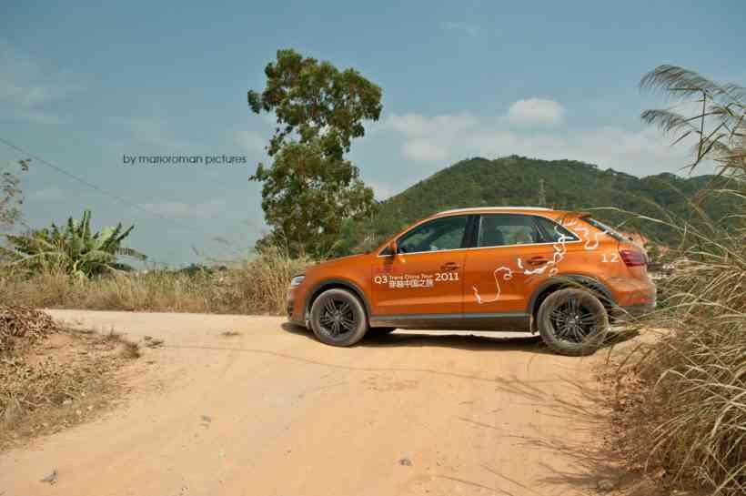 Audi Q3 Trans China Tour by marioroman pictures | Fanaticar