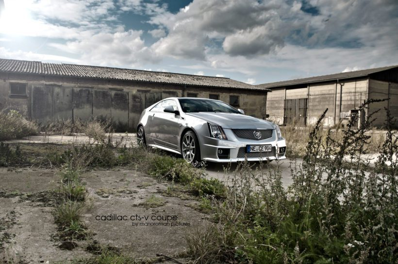 2012 Cadillac CTS-V Coupé by marioroman pictures | Fanaticar