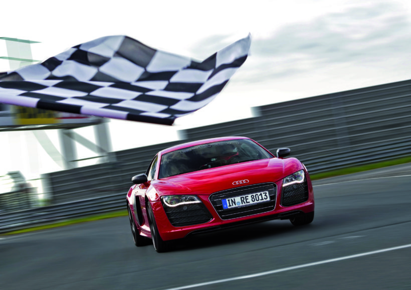Audi R8 e-tron: Weltrekord auf der Nuerburgring Nordschleife am 26. Juni 2012