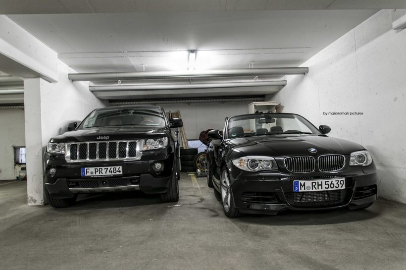 Jeep Grand Cherokee CRD und BMW 135i Cabriolet by marioroman pictures