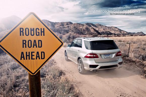 2012-ml-63-amg-286-Bearbeitet-580x385 in Mut wird belohnt - Mercedes im Juli Bloglight