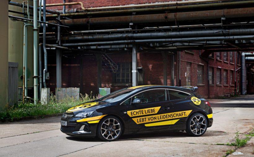 Opel Astra Borussia Dortmund - Fanaticar Magazin