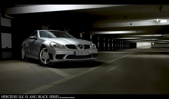 Mercedes SLK 55 AMG Black Series by marioroman pictures | Fanaticar-Magazin