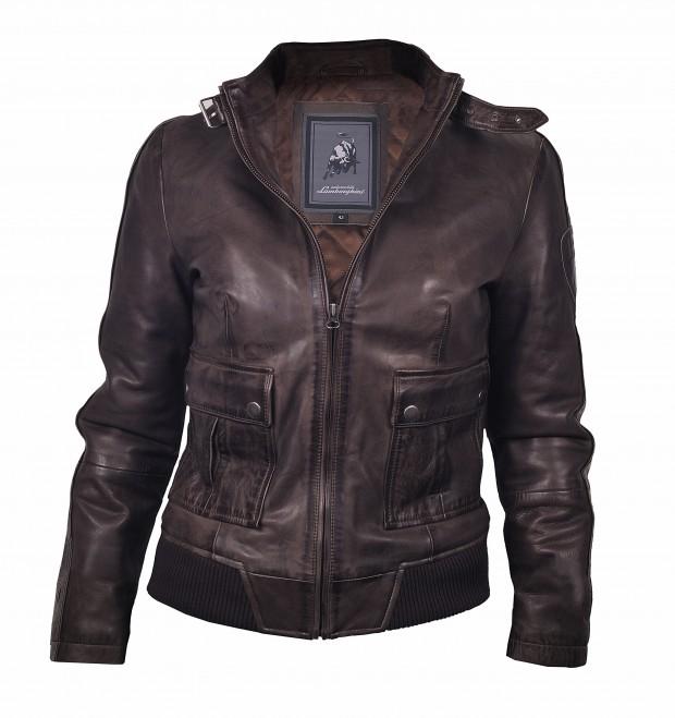 Ladies Leather Jacket by Lamborghini - Fanaticar Magazin
