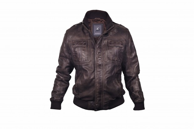 Mens Leather Jacket by Lamborghini - Fanaticar Magazin