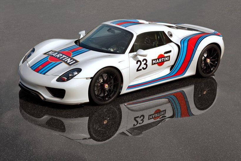 Porsche 918 Spyder Martini Look - Fanaticar Magazin