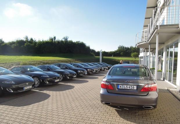Jaguar-lexus-eifel08-620x426 in LS600h trifft auf den XJ V6 Diesel - Blog by marioroman