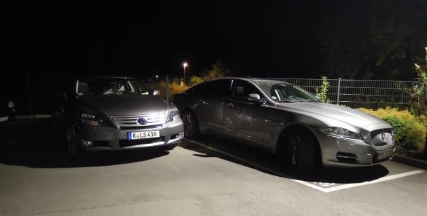 Jaguar-lexus-eifel09-620x314 in LS600h trifft auf den XJ V6 Diesel - Blog by marioroman