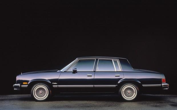 1983 Chevrolet Malibu.