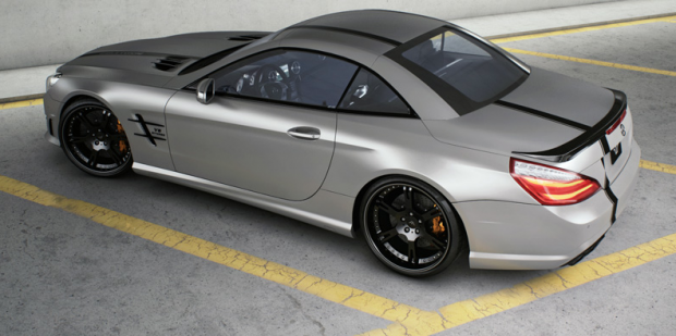 "Mercedes Benz SL63 AMG ""Seven-11"" by Wheelsandmore - Fanaticar Magazin"