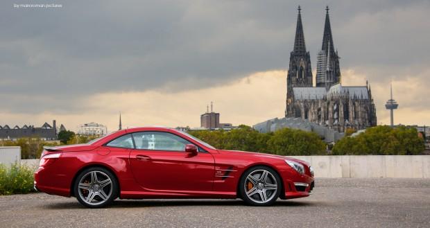 Mercedes-Benz SL63 AMG by marioroman pictures - Fanaticar Magazin