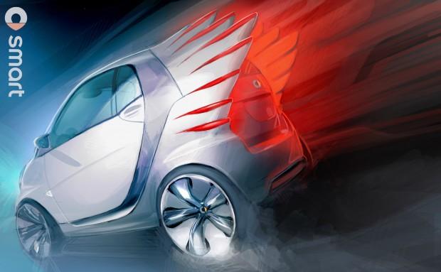 12C1263 02-620x383 in Asterix neuer Dienstwagen - Smart fortwo electric drive by Jeremy Scott