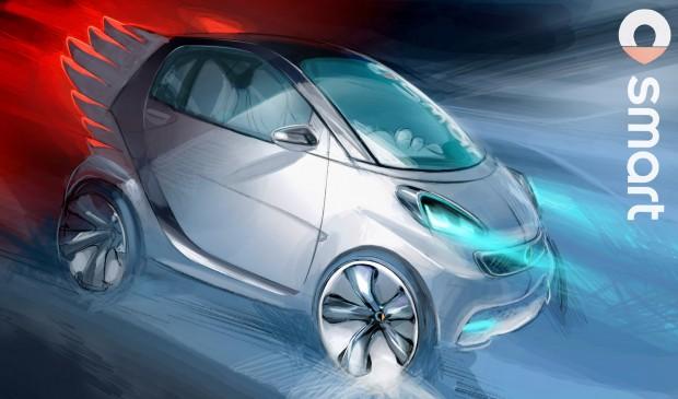 12C1263 03-620x365 in Asterix neuer Dienstwagen - Smart fortwo electric drive by Jeremy Scott