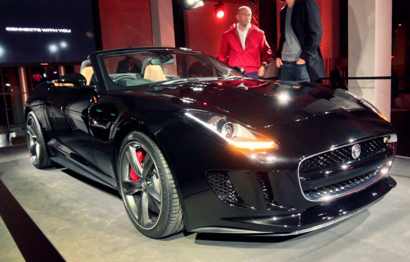 Jaguar F-Type Private Viewing Hamburg - Fanaticar Magazin