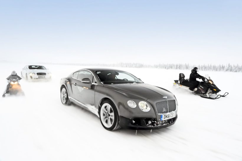 "Bentley ""Power on Ice"" - Fanaticar Magazin"