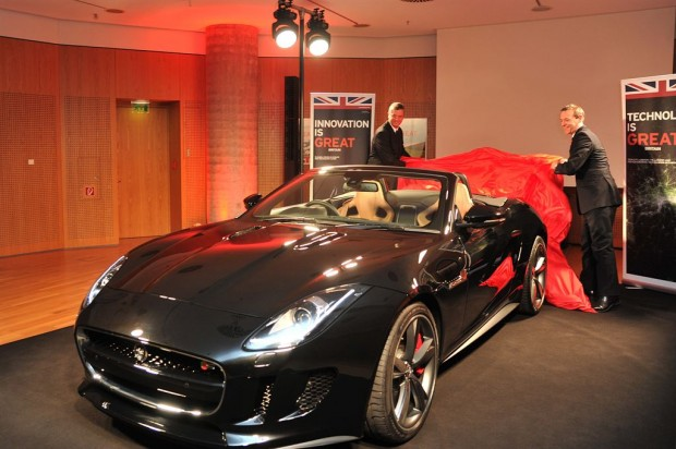 Jaguar F-Type Private Viewing Berlin - Fanaticar Magazin