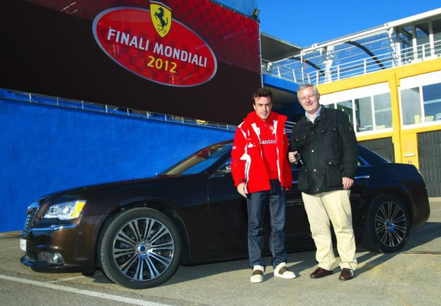Fernando Alonso übernimmt Lancia Thema - Fanaticar Magazin