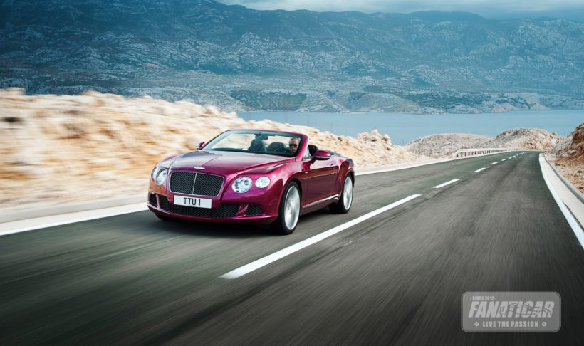 2013 Bentley GT Speed Cabriolet - Fanaticar Magazin