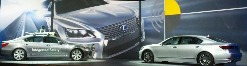 Lexus LS at CES Vegas - Fanaticar Magazin