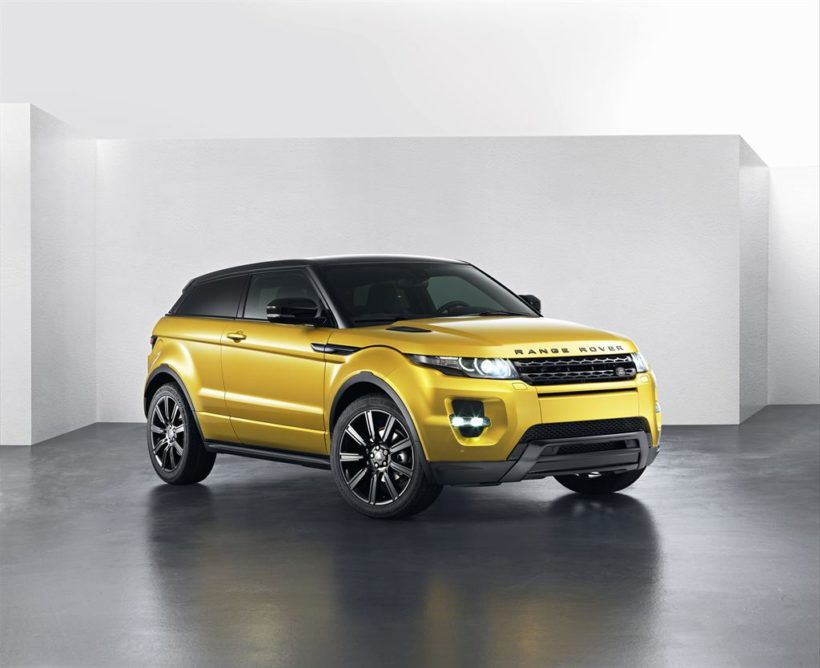 "Range Rover Evoque ""Yellow Edition"" - Fanaticar Magazin"