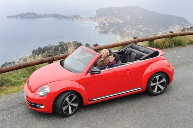 VW Beetle Cabrio 2013 Nizza-620x412 in Fahrbericht VW Beetle Cabrio TSI: Nur die Harten kommen ins Cabrio