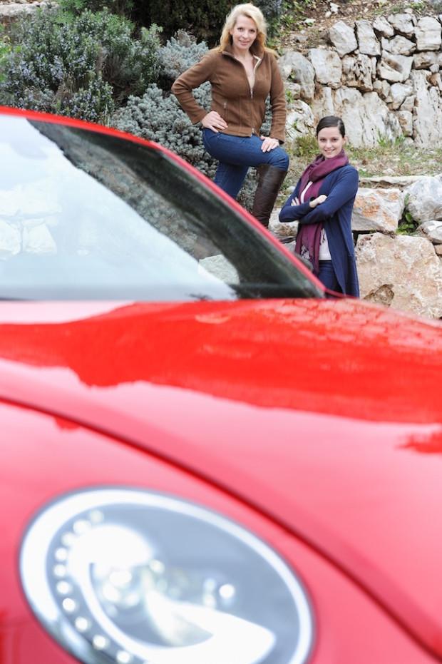 Schöne Spritztour im Beetle Cabrio