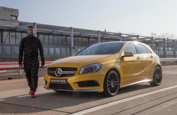 RnB Sänger Usher meets Mercedes-Benz AMG - Fanaticar Magazin