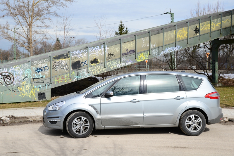 Fahrbericht Ford S-MAX 1,6 l EcoBoost Titanium - Lichtdurchfluteter Sport-Van