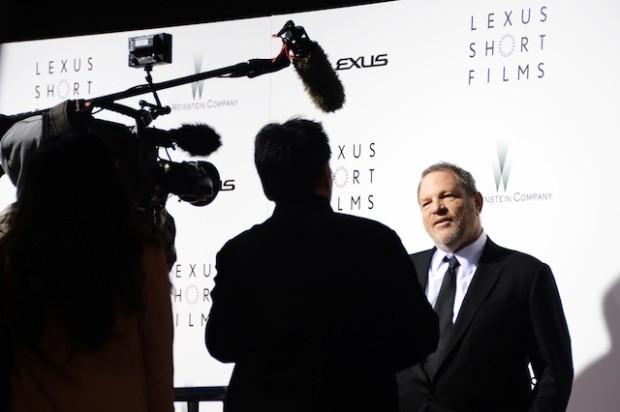 Harvey Weinstein gibt sich die Ehre