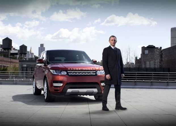 Daniel Craig & Range Rover Sport - Fanaticar Magazin