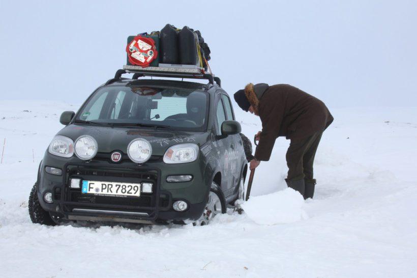 Volker Lapp Fiat Panda 4x4 - Fanaticar Magazin