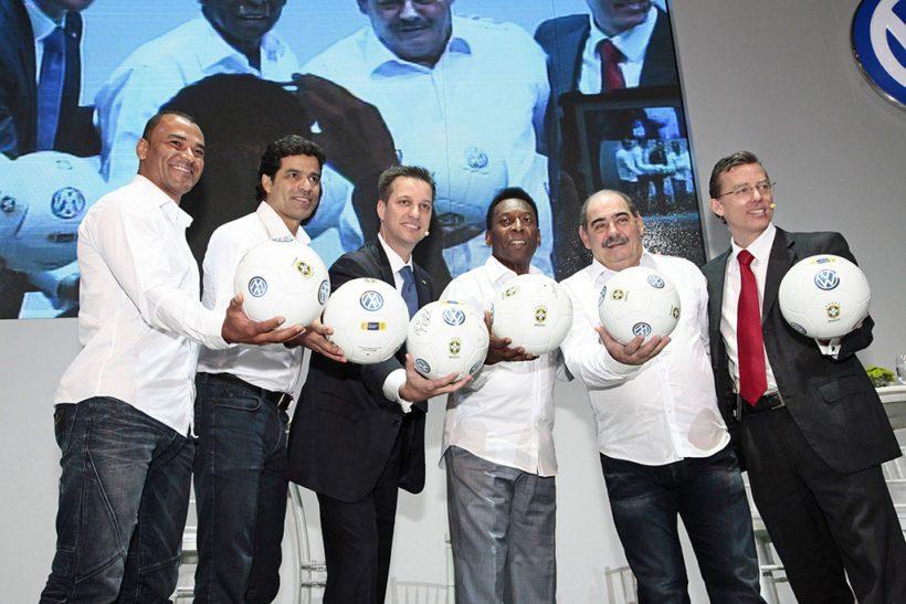 Volkswagen verpflichtet sechs brasilanische Fußballikonen als Botschafter - Fanaticar Magazin