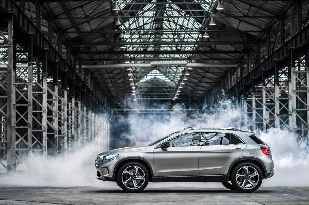 13C314 021-620x412 in Dyamische SUV Studie von Mercedes-Benz : Der Concept GLA
