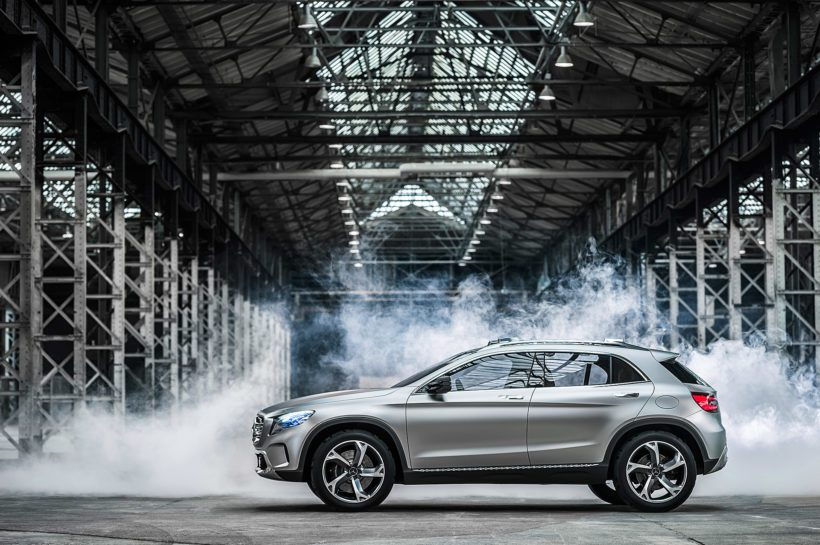 2013 Mercedes-Benz Concept GLA - Fanaticar Magazin