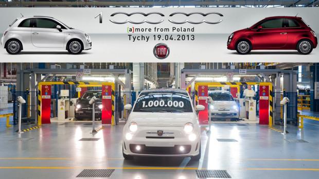 Fiat500-1million-1-620x348 in Der polnische Pizzaflitzer Fiat 500 knackt die Millionengrenze