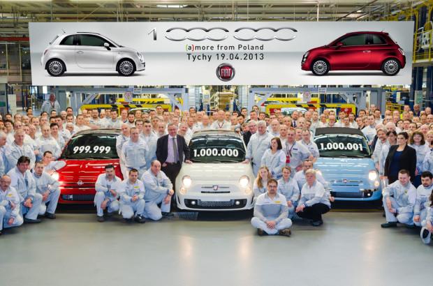 Fiat500-1million-2-620x410 in Der polnische Pizzaflitzer Fiat 500 knackt die Millionengrenze