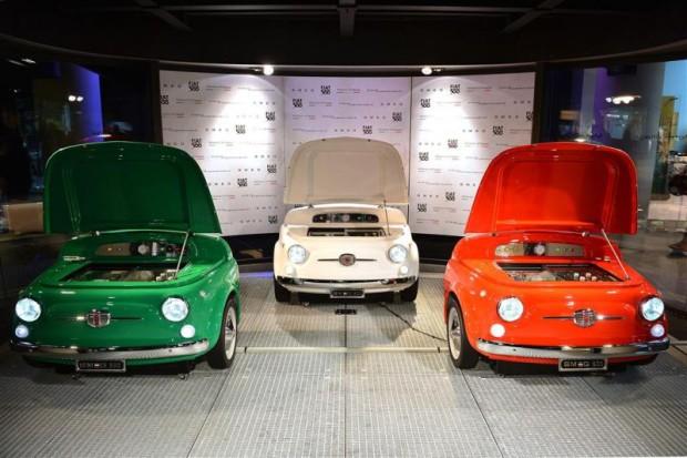 Fiat500 SMEG Kühli