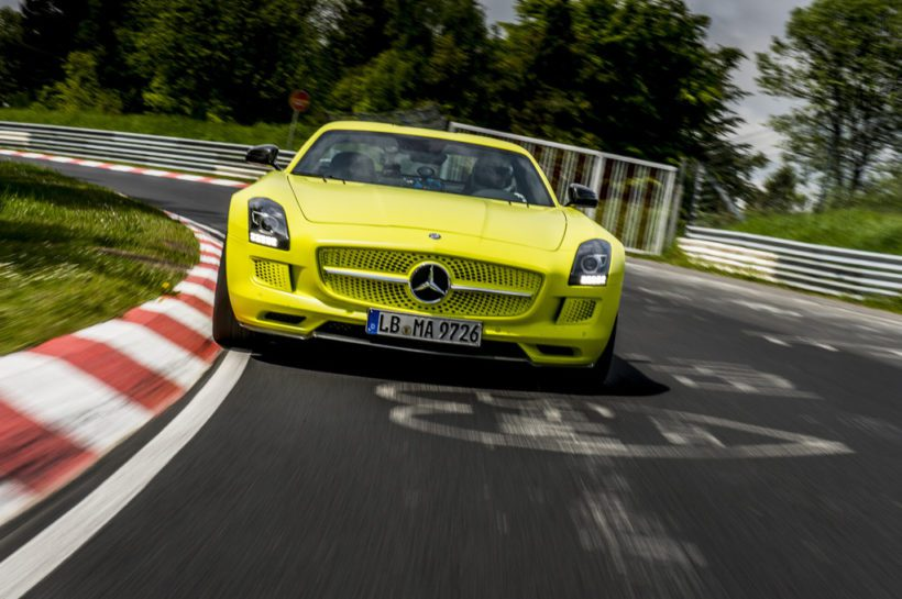 SLS AMG Coupé Electric Drive - Fanaticar Magazin