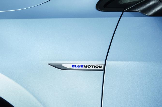 Golf TDI BlueMotion schick in Blue