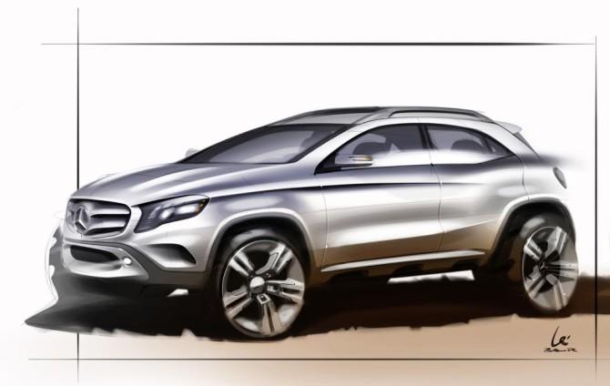 13C735 01-670x424 in Schickes Kerlchen - der Mercedes GLA