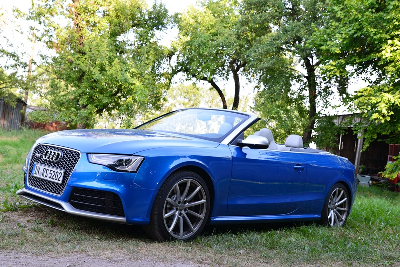 Audi RS5 Cabriolet - Fanaticar Magazin