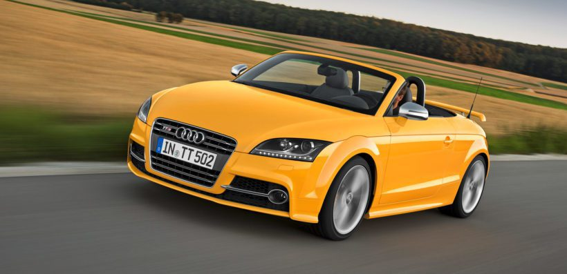 Audi TTS Roadster competition - Fanaticar