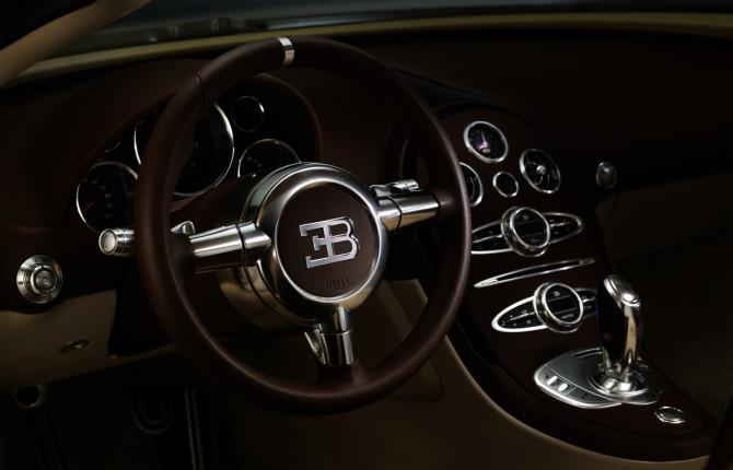 """013 Jean-Bugatti Legend Steering-wheel-670x430 in Bugatti präsentiert auf der IAA die Legende """"Jean Bugatti"""" als Sonderedition"""
