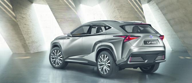 Lexus LF-NX Concept - Fanaticar