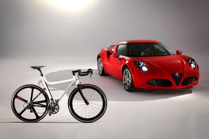 """Alfa Romeo Rennrad """"4C IFD"""""""