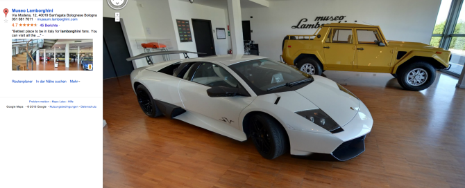 Bildschirmfoto-2013-10-09-um-14 07 23-670x272 in Lamborghini öffnet die Museumspforten für Google Street View
