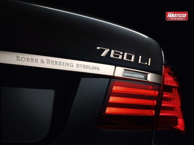 BMW Individual 760Li Sterling inspired by ROBBE & BERKING