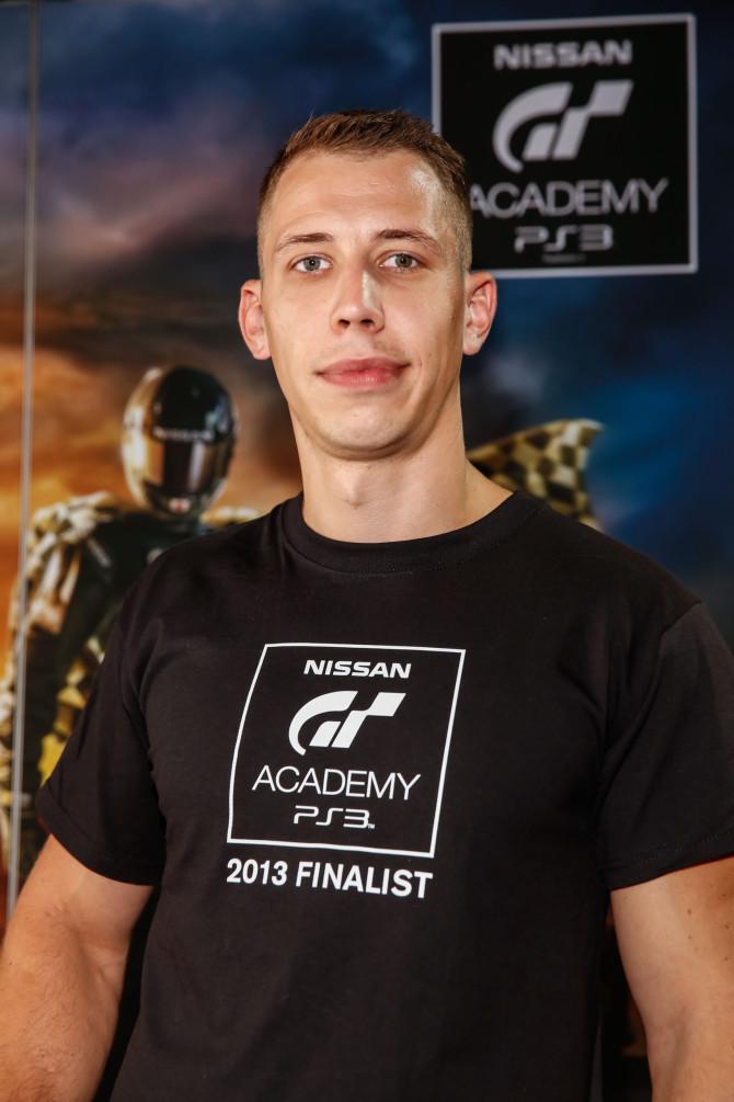 Gewinner der GT Academy 2013: Florian Strauss aus Berlin