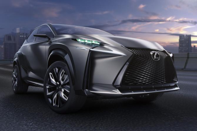 Als erstes Lexus Fahrzeug  verfügt der LF-NX Turbo über einen 2,0-Liter-Vierzylinder-Turbomotor mit dem fortschrittlichen D-4S Einspritzsystem